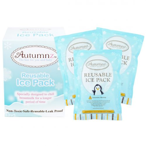 Autumnz - Reusable Ice Pack (3 pcs, 310g/pc)