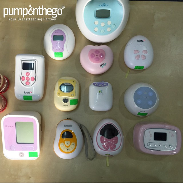 Wide range of breast pump model and brands