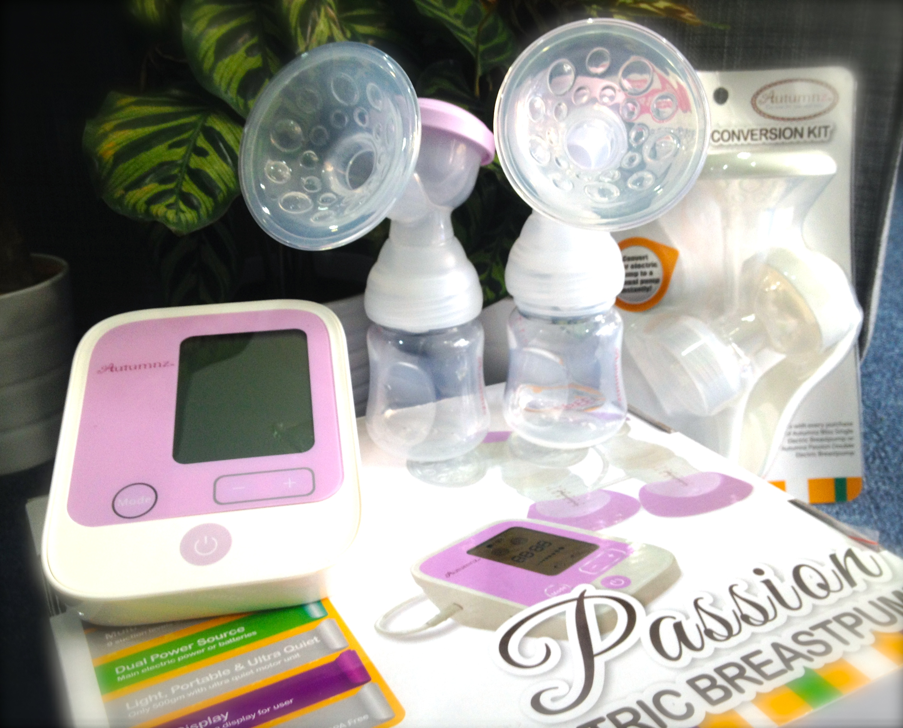 Pumponthego Autumnz Passion Double Electric Breast Pump