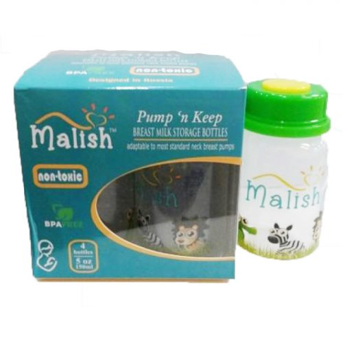 Malish storage bottle