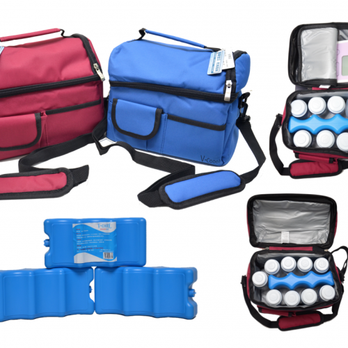 Combo V-cool Cooler bag & ice brick