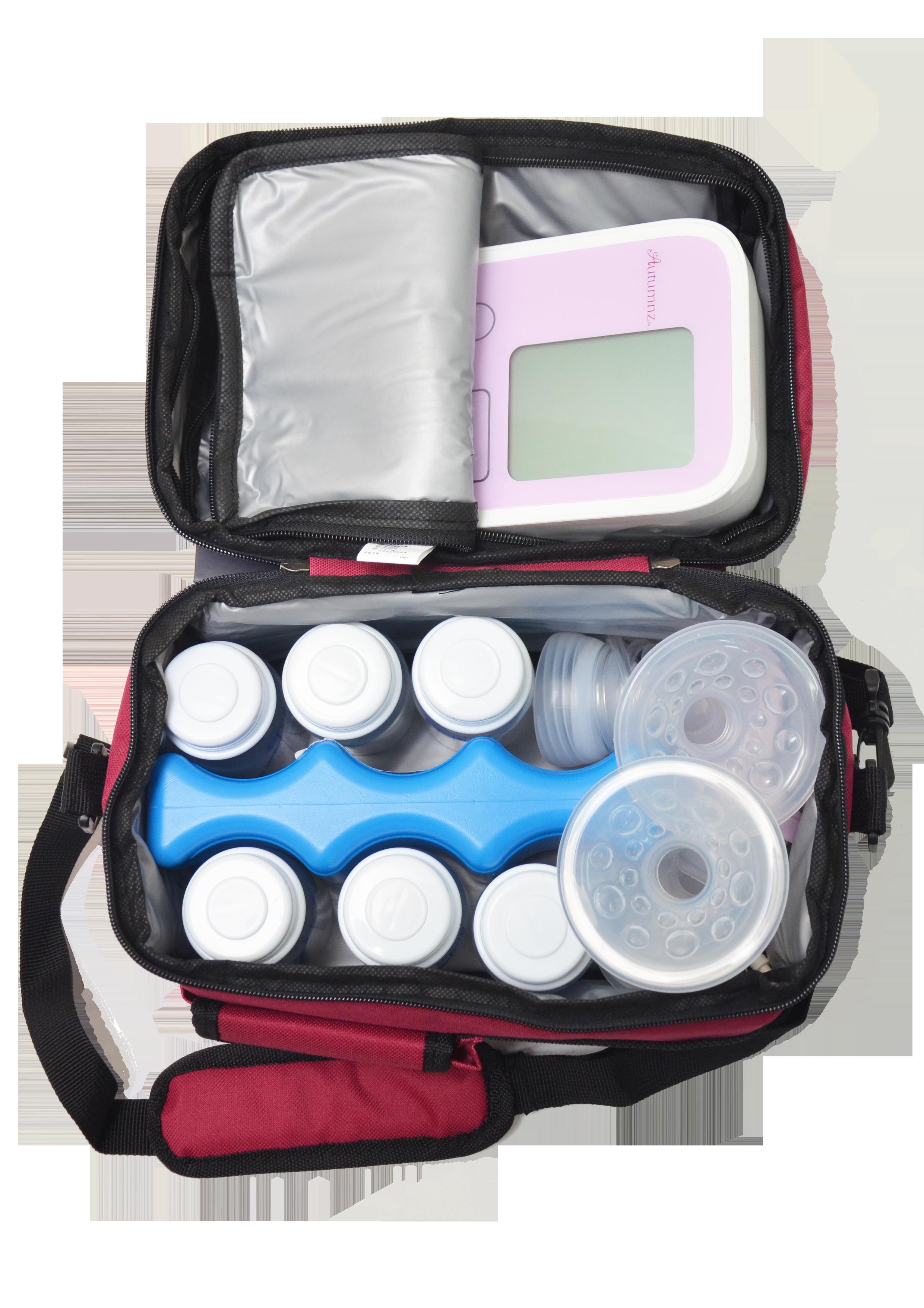 Bedroom Baby Milk Cooler: V-Cool Cooler Bag - PumpOnTheGo