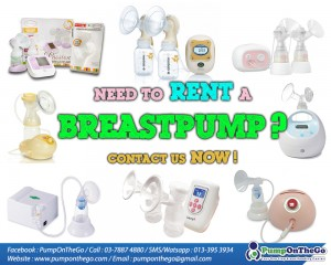 Breastpump rental service