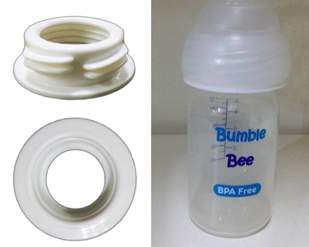 Pumponthego Wide To Standard Neck Bottle Adapter