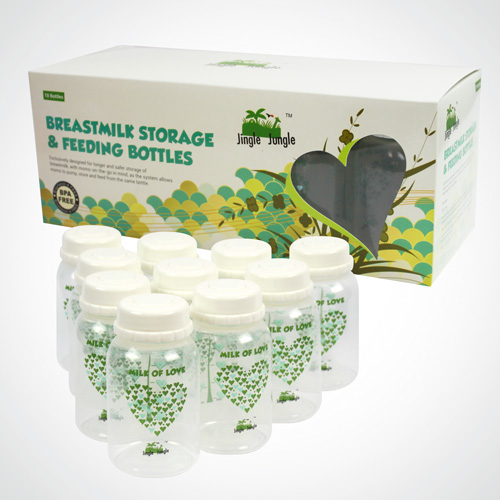 Jingle Jungle Tmilk Storage Bottle