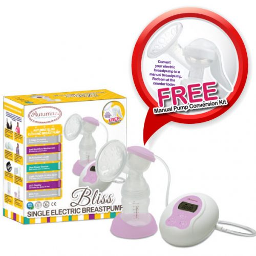 Autumnz Bliss Single Electric Breast Pump
