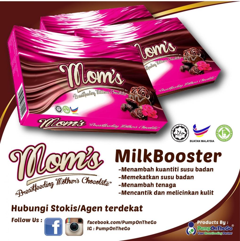 Coklat Mom's Penggalak Susu