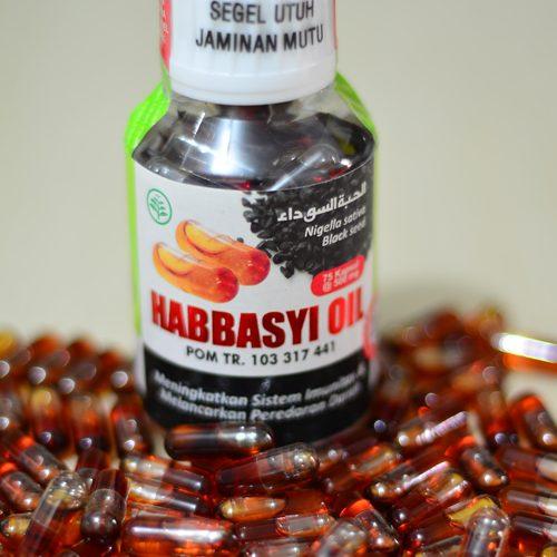 Habbasyi Oil Kapsul Habbatus Sauda Murah Milk Booster