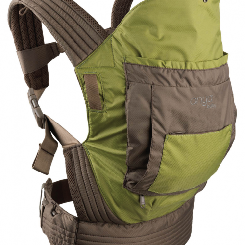 Onya Baby Carrier Chocolate Olive Green