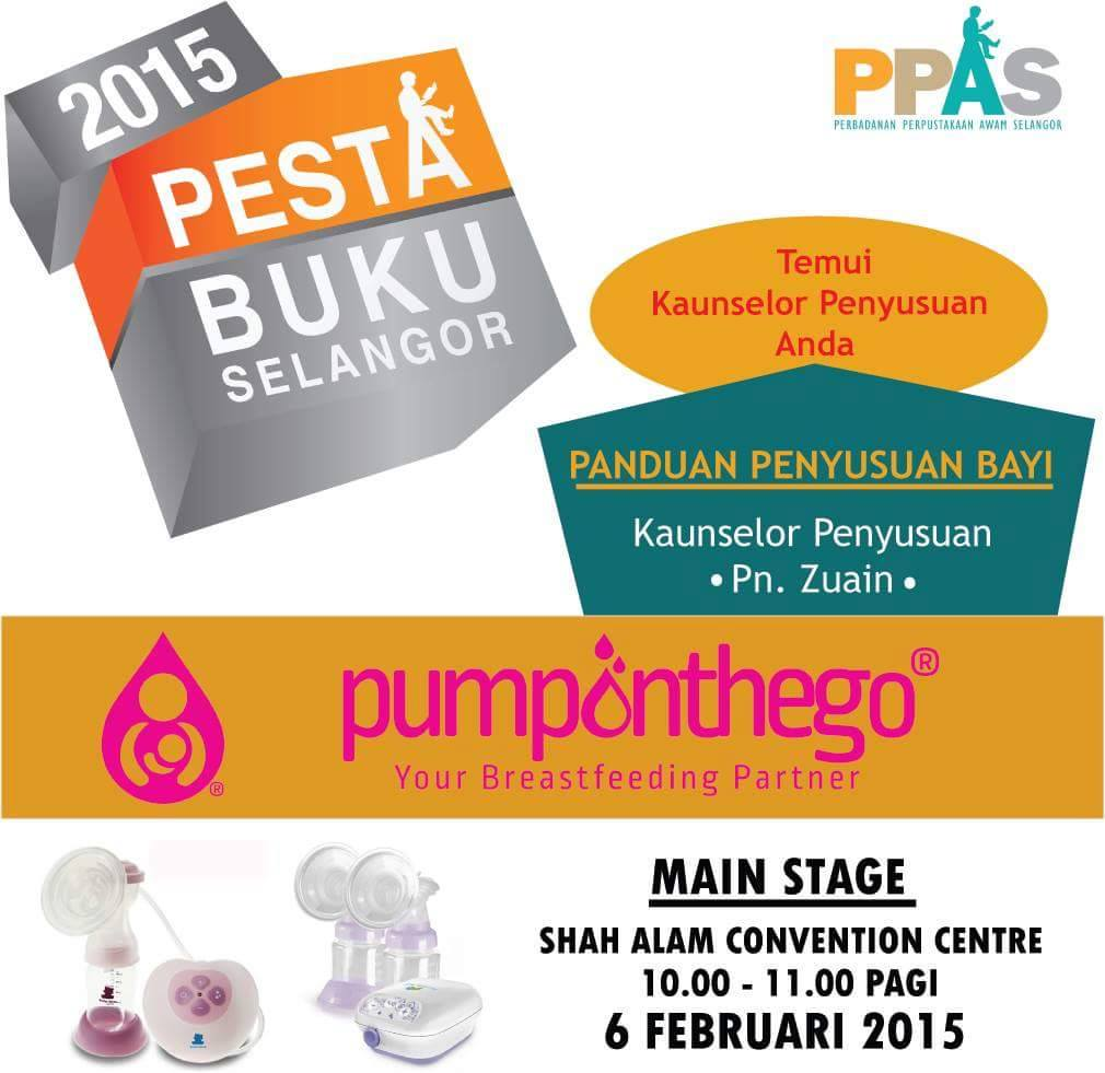 PPesta Buku Selangor 2015 PumpOnTheGo