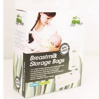 Jingle Jungle - 7oz Breastmilk Storage Bag (25pcs)