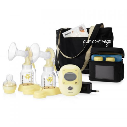 Medela Freestyle Electric Double Breast Pump with Calma Teat (Lactaequip)