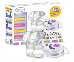 Autumnz Serene Double Rechargeable Breast Pump