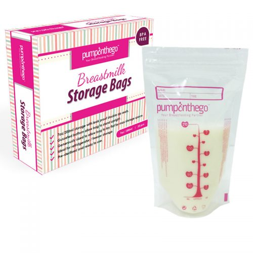 POTG Breast Milk Storage Plastic 7oz 25pcs