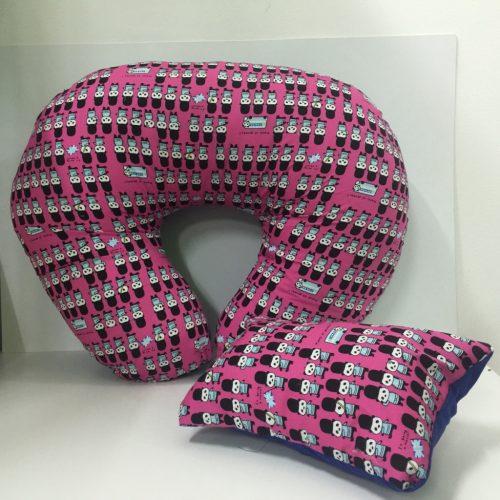 POTG Nursing Pillow 100% Kekabu - Pink Bear