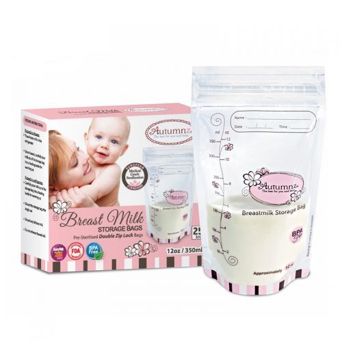 Autumnz Breast Milk Storage Plastic bag 12oz