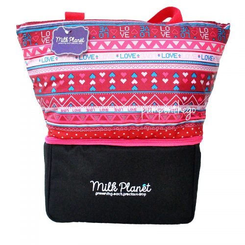 Milk Planet Signature Cooler Bag Red Sweet Heart