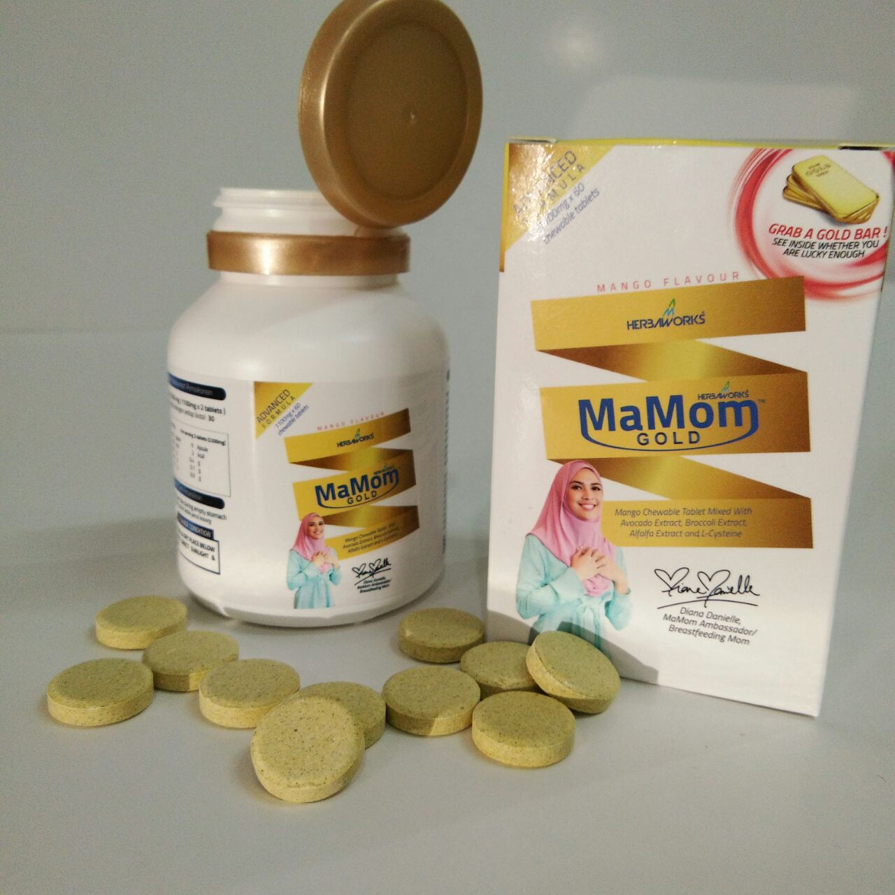 Mamom Gold Milk Booster