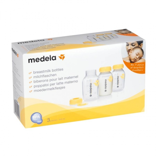 Medela Breastmilk Bottles 150ml - 3 in 1