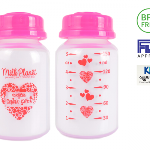 Milk Planet Storage Bottles