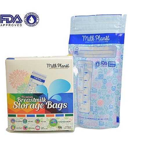 Milk Planet Premium Storage Plastic Bags 7oz