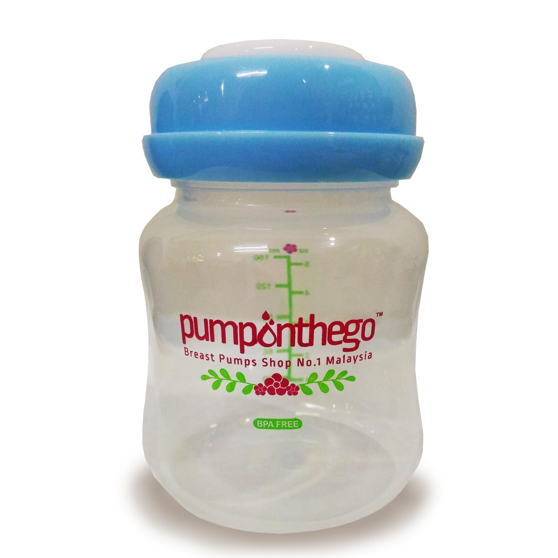 pumponthego 5oz (wide neck) storage bottle