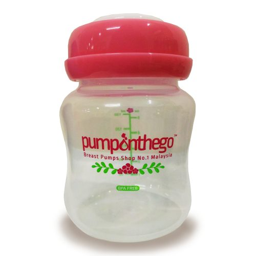 pumponthego 5oz (wide neck) storage bottle
