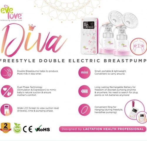 Eve Love Diva Breast Pump