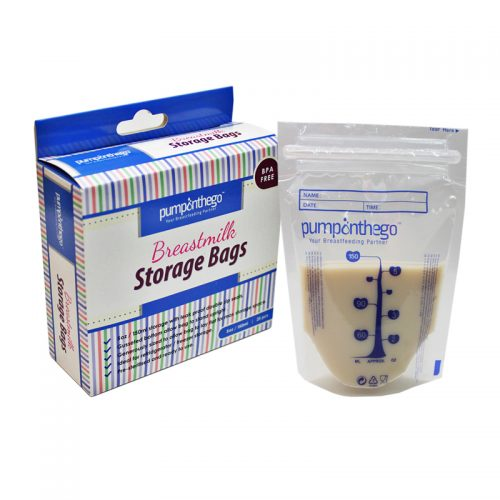 POTG Breast Milk Storage Plastic 5oz 25pcs