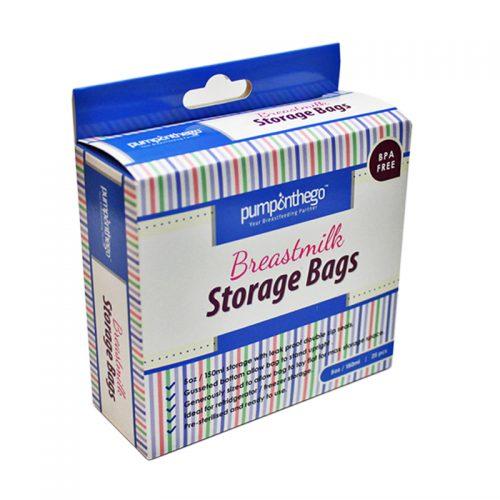 POTG Breast Milk Storage Plastic 5oz 25pcs