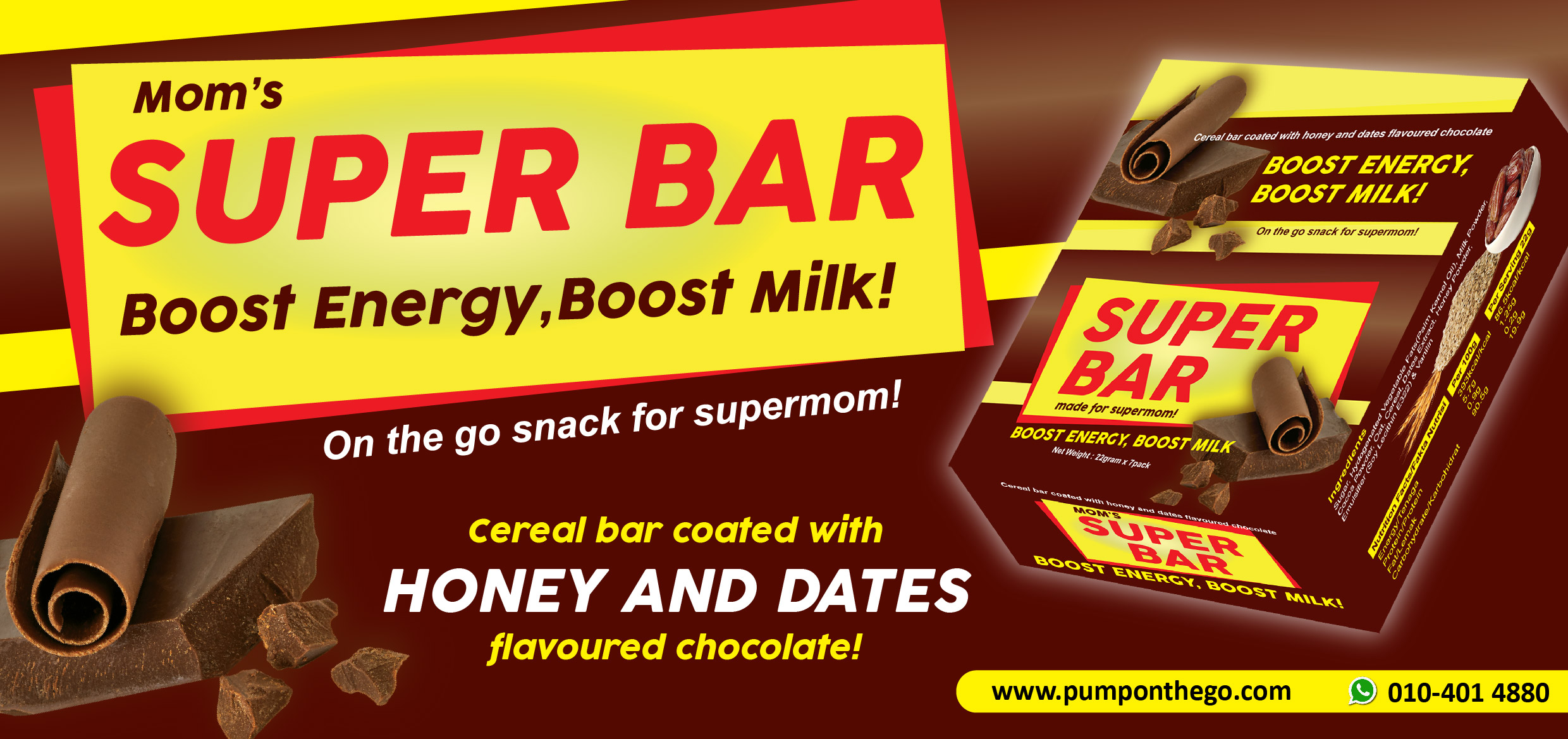 Mom's Super Bar Chocolate