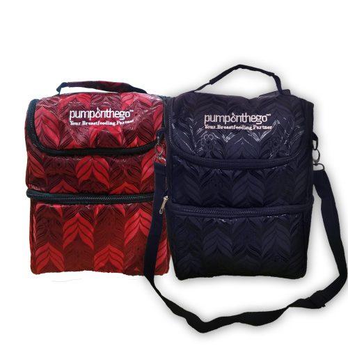 PumpOnTheGo Classy Cooler Bag