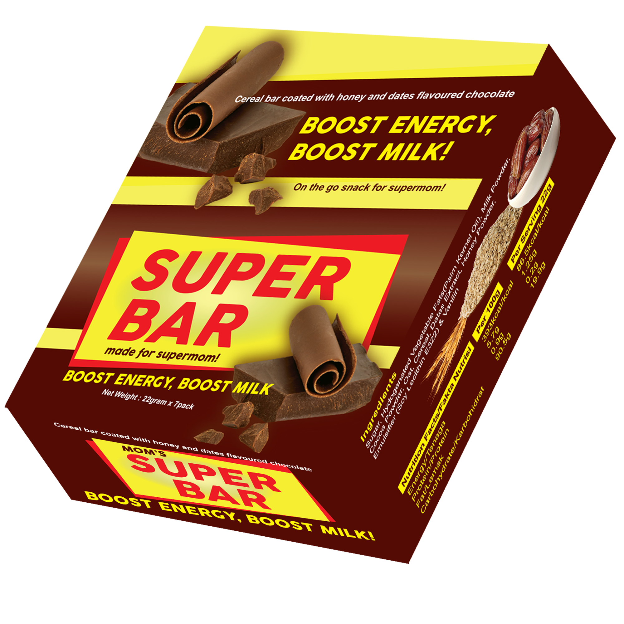 Mom's Super Bar Milk Booster