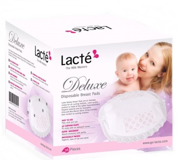 Lacte Deluxe Disposable Breast Pad 36pcs