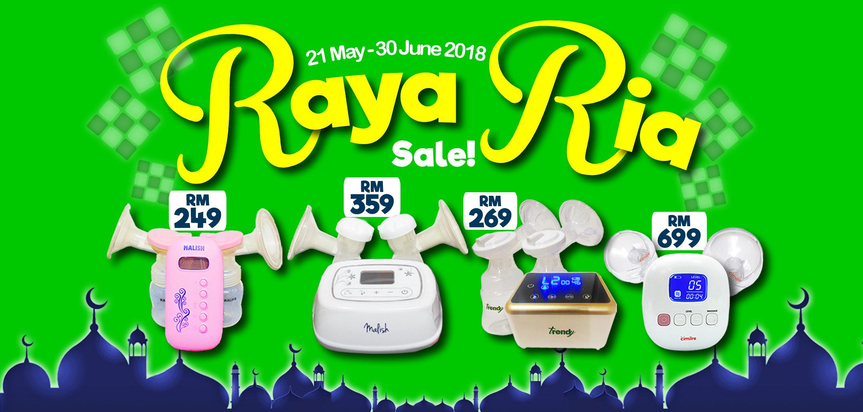 PumpOnTheGo Raya Ria Sale