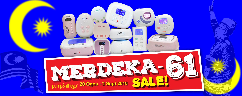 PumpOnTheGo Merdeka-61 Sale