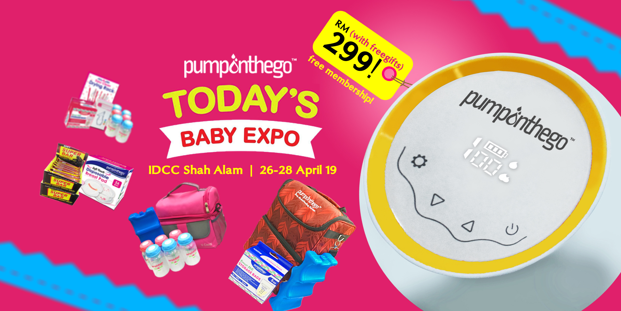 PumpOnTheGo at Today's Baby Expo 2019
