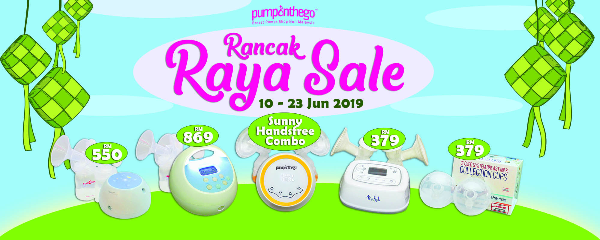 PumpOnTheGo Rancak Raya Sale 2019