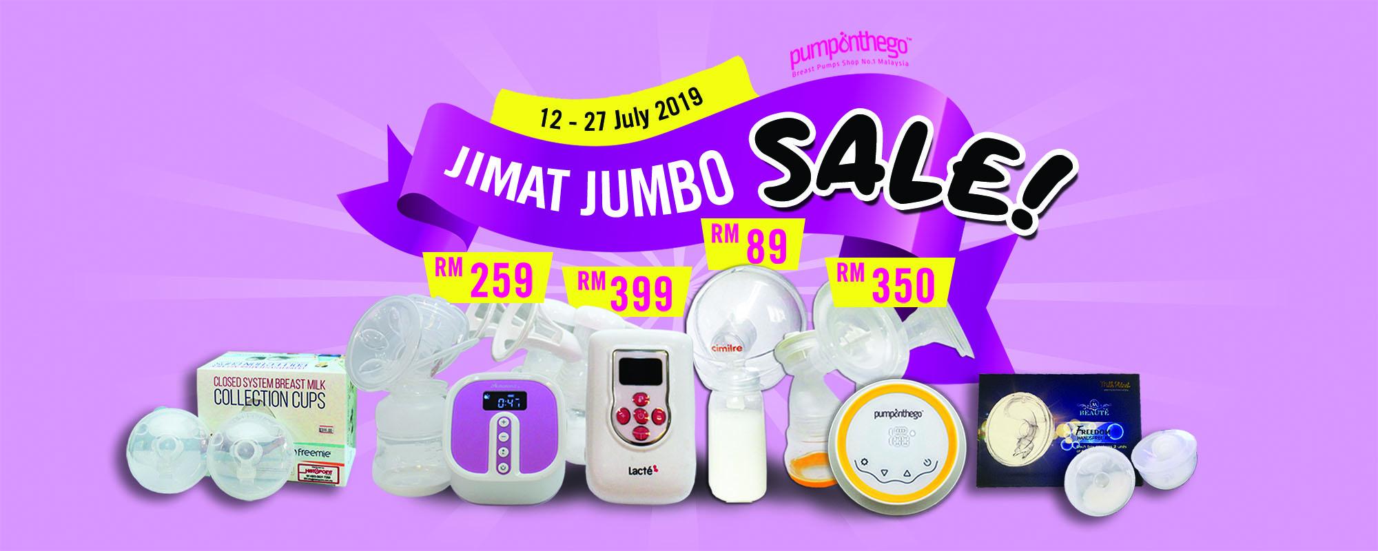 PumpOnTheGo Jimat Jumbo Sale
