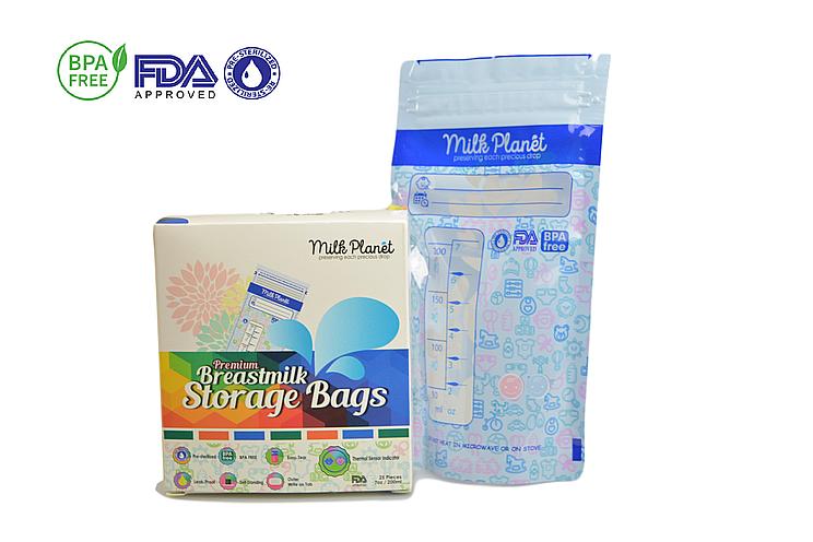 Pumponthego Milk Planet Premium Storage Plastic Bags